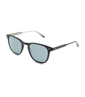 Garrett Leight GARRETT LEIGHT - Brooks Matt Black Sunglasses on Menlook.com Black