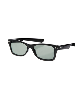 ASOS ASOS Small Retro Sunglasses Black