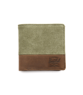 Herschel Kenny Khaki Faded Wallet Beige
