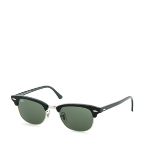 Ray-ban CLUBMASTER II SUNGLASSES Black, Green, Silver