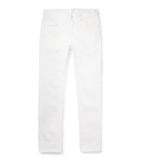 Acne Acne Studios Ace Dry-Denim Jeans White