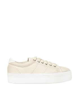 No Name NO NAME - 40MM PLATO CANVAS WEDGED SNEAKERS