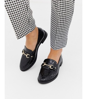 Carvela Carvela Snaffle loafers - Svart Black, White
