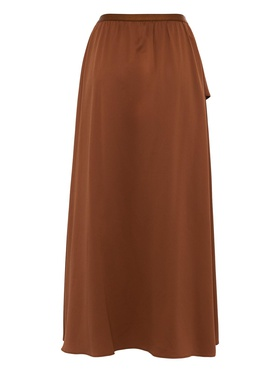 French Connection French Connection Rokken Herr Skirts Alessia Satin Midi Skirt Size XLarge