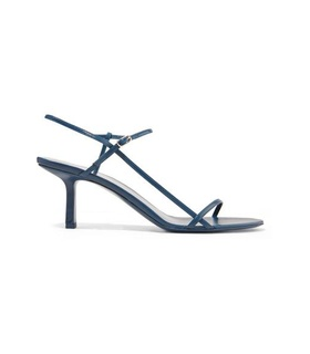 The Row The Row - Bare Leather Sandals - Navy White, Blue