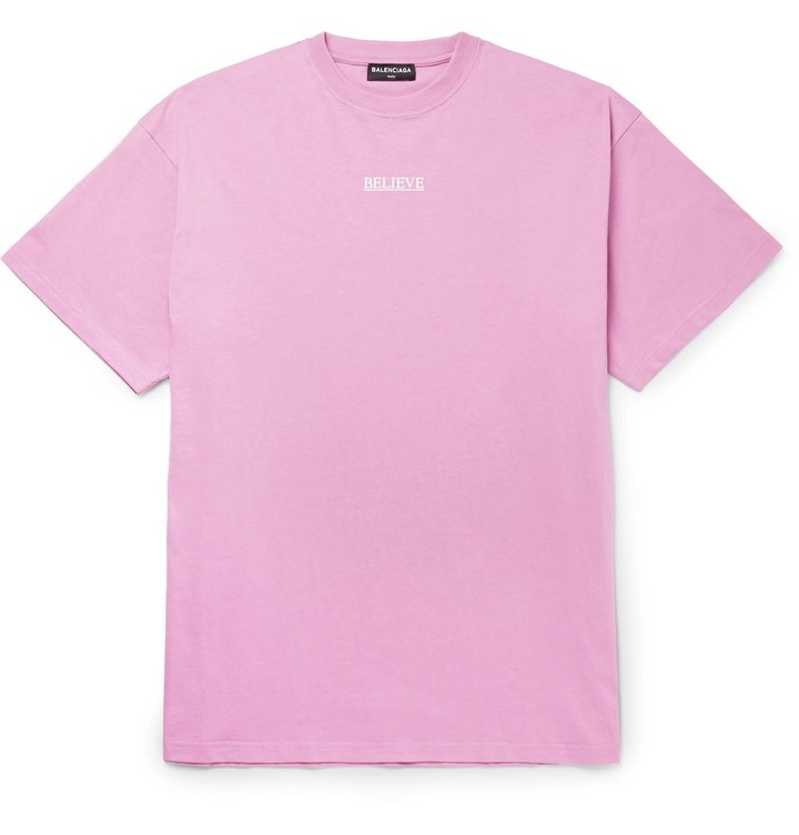 balenciaga t shirt purple