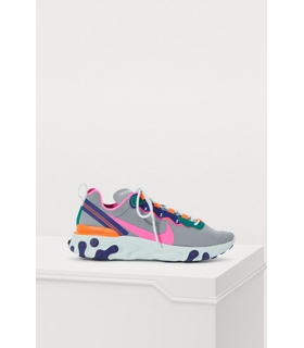 Nike React Element 55 sneakers Grey, Red, Pink