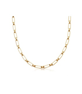 missoma Gold Aegis Chain Necklace Gold