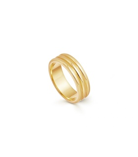 missoma Gold Ancien Ring Gold