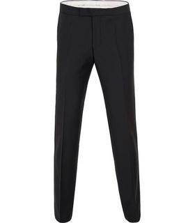 Oscar Jacobson Oscar Jacobson Devon Tuxedo Trousers Black Black, White