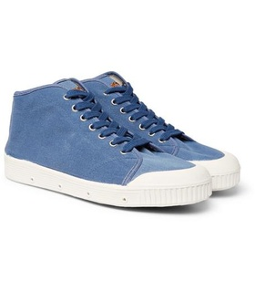 + Spring Court Twill High-top Sneakers Officine Generale RtaGkdm