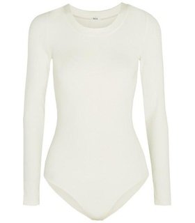Wolford Wolford - Berlin Stretch-jersey Bodysuit - White White