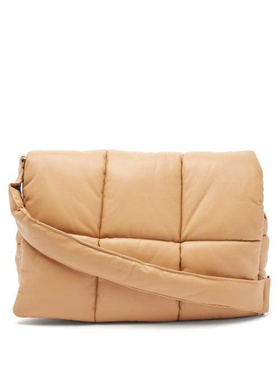 stand studios Stand Studio - Wanda Quilted Faux-leather Shoulder Bag - Womens - Tan Brown