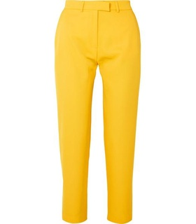 House Of Holland House of Holland - Twill Tapered Pants - Yellow White, Yellow
