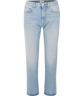 Totême Totême - Original Mid-rise Straight-leg Jeans - Light denim White