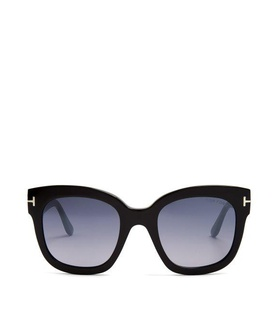 Tom Ford Eyewear Tom Ford Eyewear - Beatrix Square Frame Sunglasses - Womens - Black Multi Black, White