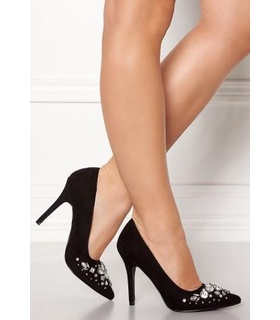 New Look New Look Storm Embellished Heel Black 38 (UK5) Black, White