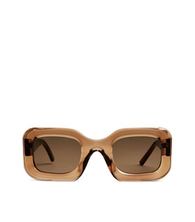 Arket Ace & Tate Donna Sunglasses - Brown White, Brown