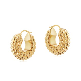 missoma Baya Hoop Earrings Gold