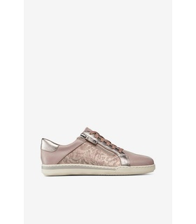 Tamaris Sneakers med dragkedja White, Pink