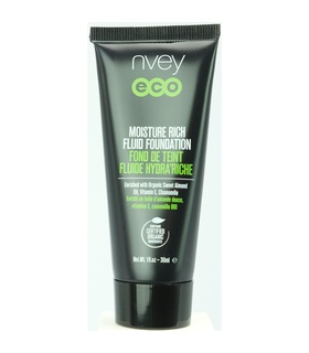 Nvey Eco Nvey Eco Moisture Rich Fluid Foundation Shade 514 - Cool Natural White, Beige, Brown