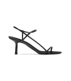 The Row The Row - Bare Leather Sandals - Black Black, White