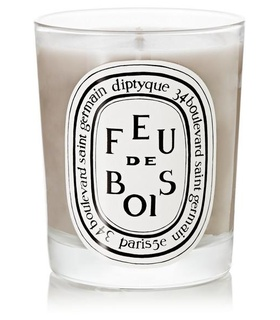 Diptyque Diptyque - Feu De Bois Scented Candle, 190g - one size White