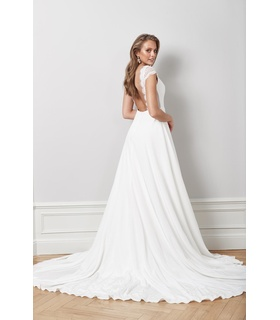 By Malina Signe gown White