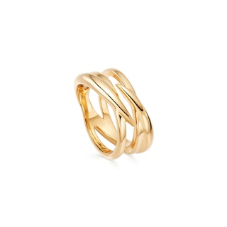 missoma Gold Claw Entwine Ring Gold