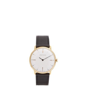Sekford Watches Sekford Watches - Type 1a Stainless Steel And Leather Watch - Mens - Black Black, White