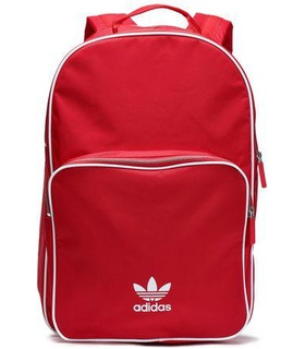 Adidas Originals Adidas Originals Woman Woven Backpack Red Size - White, Red