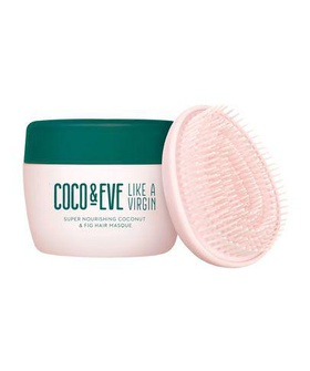 Coco & Eve Coco & Eve Super Nourishing Coconut & Fig Hair Masque 212ml Beige, Brown