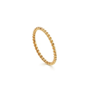 missoma Gold Flux ring Gold