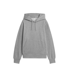 Arket French Terry Hoodie - Grey Grey, White